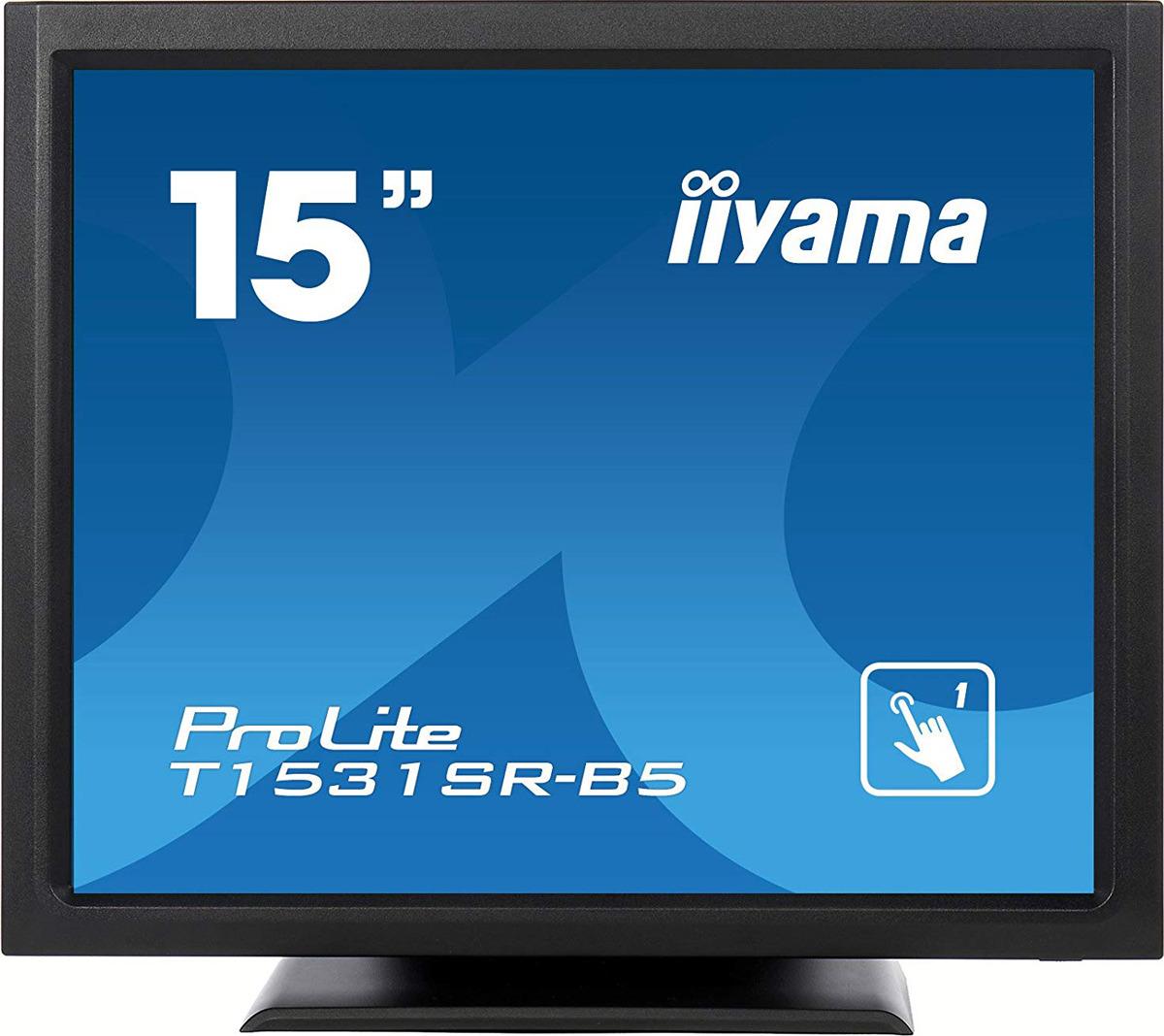 Монитор Iiyama 15 T1531SR-B5, черный монитор iiyama t1931saw b5