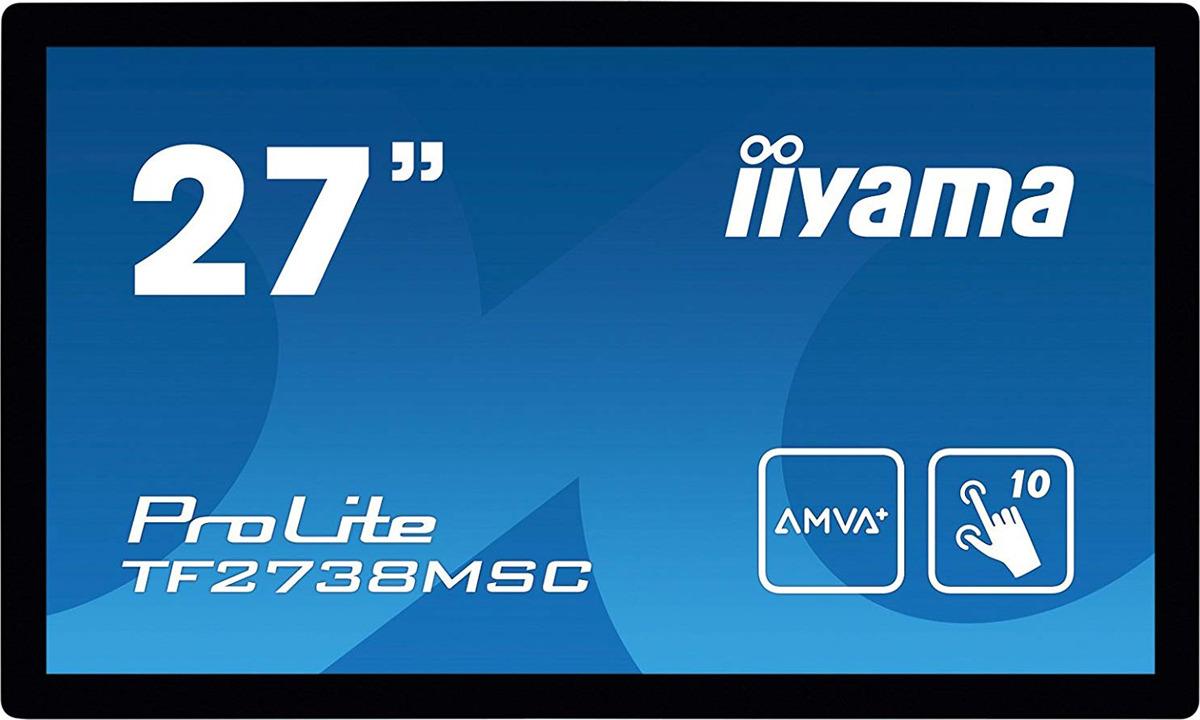 "Монитор Iiyama 27"" TF2738MSC-B1, черный"
