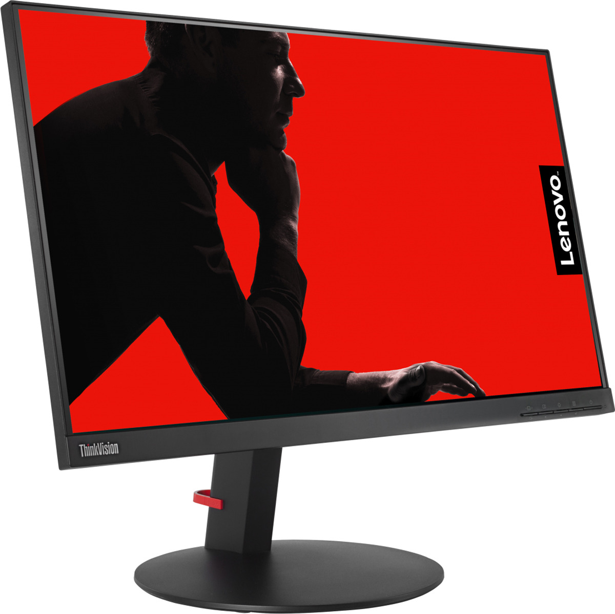 "Монитор Lenovo 23.8"" ThinkVision T24i-10, черный"