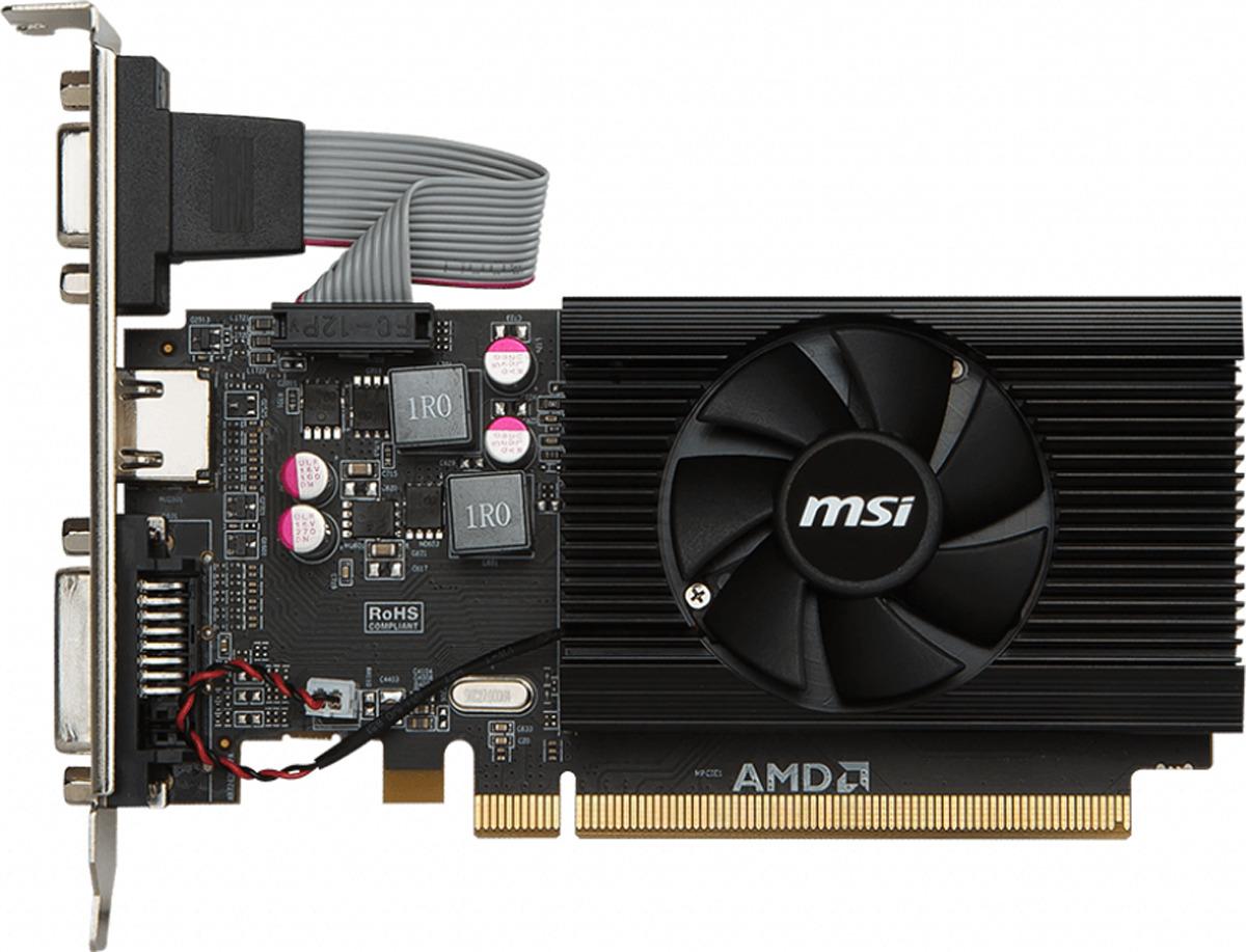 Видеокарта MSI Radeon R7 240 1GD3 64B LP 1GB все цены