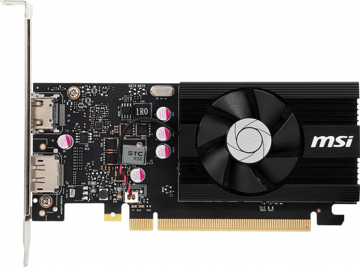 Видеокарта MSI GeForce GT 1030 2GD4 LP OC 2GB цена и фото