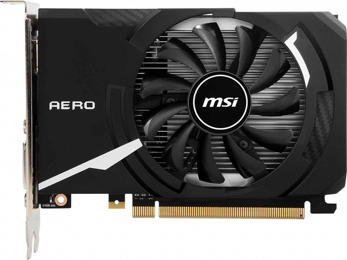 Видеокарта MSI GeForce GT 1030 AERO ITX OC 2GB цена и фото