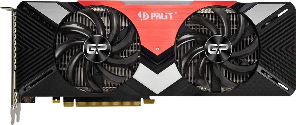 Видеокарта Palit GeForce RTX 2080 Dual 8GB, NE62080020P2-180A