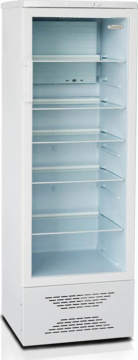 Холодильная витрина Бирюса Б-310, однокамерная, белый однокамерный холодильник бирюса 10