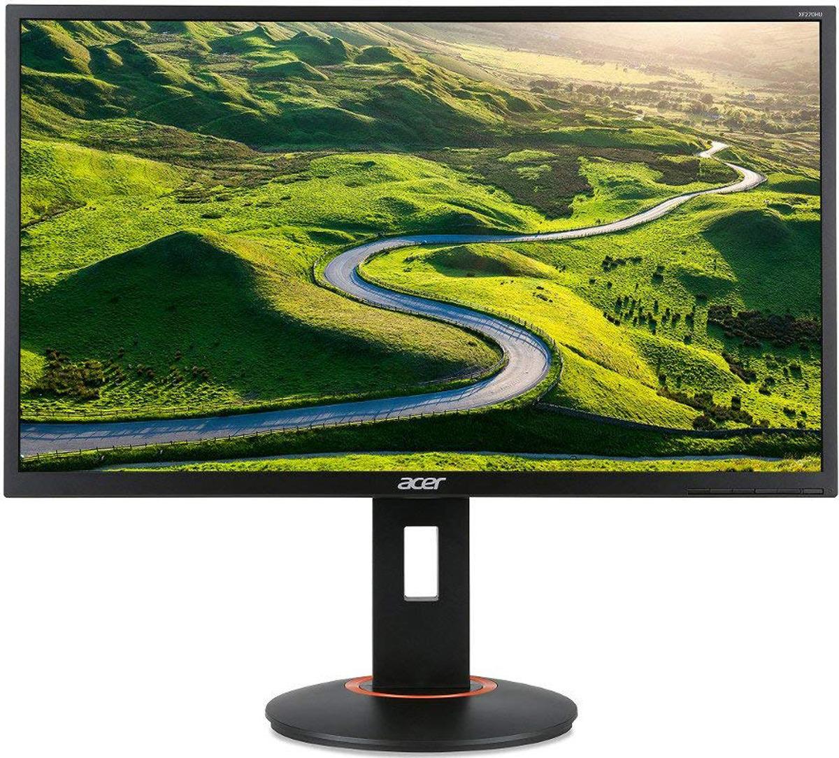 """Монитор Acer Gaming XF240Hbmjdpr, 24"""", UM.FX0EE.001, черный"""