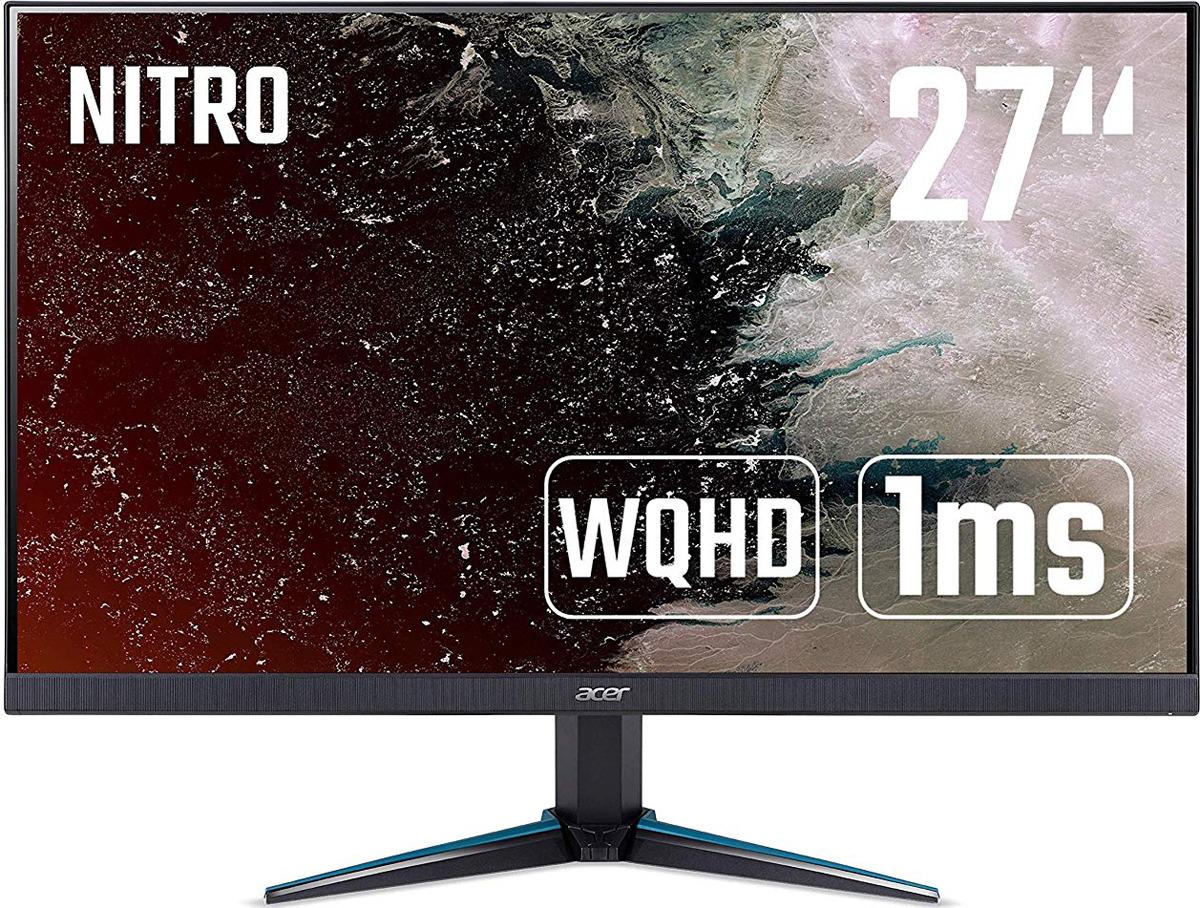 """Монитор Acer Gaming Nitro VG270Kbmiipx, 27"""", UM.HV0EE.010, черный"""