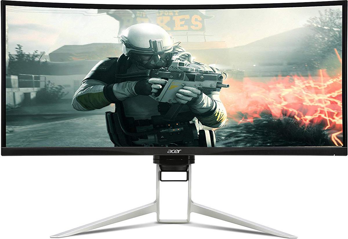 """Монитор Acer Gaming XR342CKPbmiiqphuzx, 34"""", UM.CX2EE.P01, черный"""