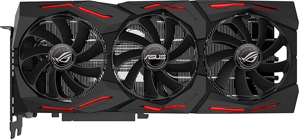 Видеокарта ASUS ROG Strix GeForce RTX 2080 Advanced 8GB, ROG-STRIX-RTX2080-A8G-GAMING original ni pci 5102 15 mhz 20 ms s