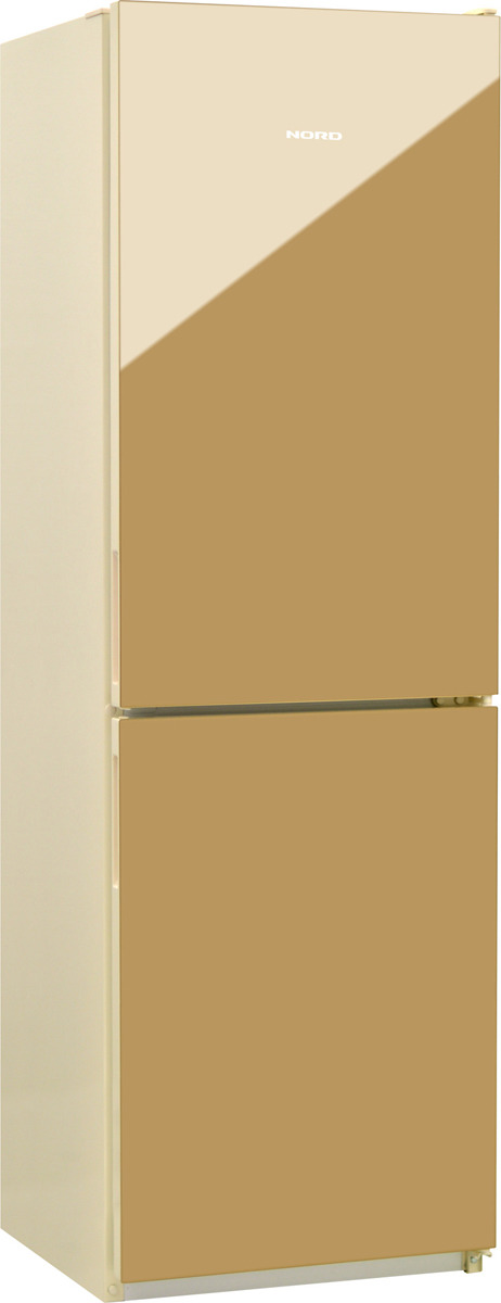 Холодильник Nord NRG 119 542, золотистый холодильник nord nrb 119 542 двухкамерный золотистый стекло [00000246085]
