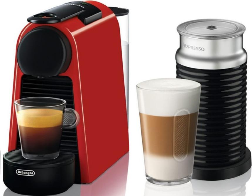 Кофемашина Delonghi Nespresso EN85.RAE, 132191664, красный, черный