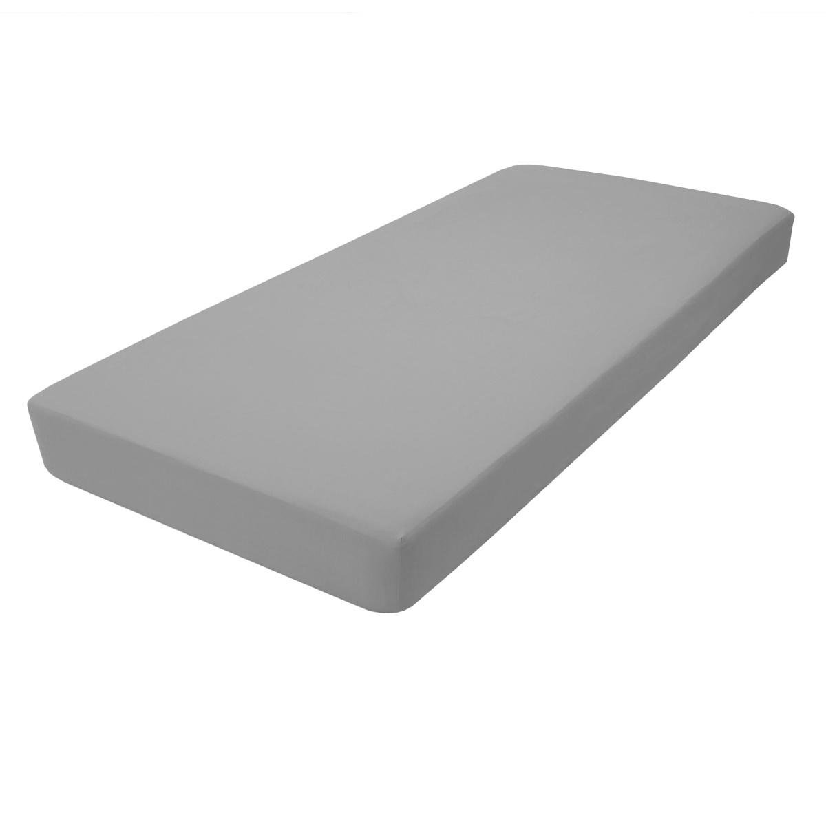 Простыня LIMETIME Sateen Comfort, темно-серый