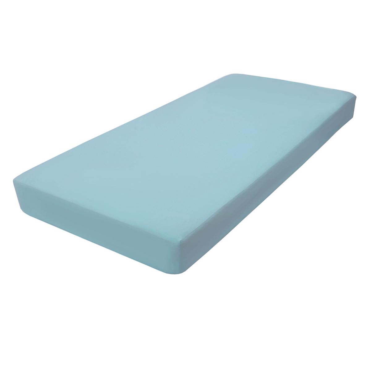 Простыня LIMETIME Sateen Comfort, голубой