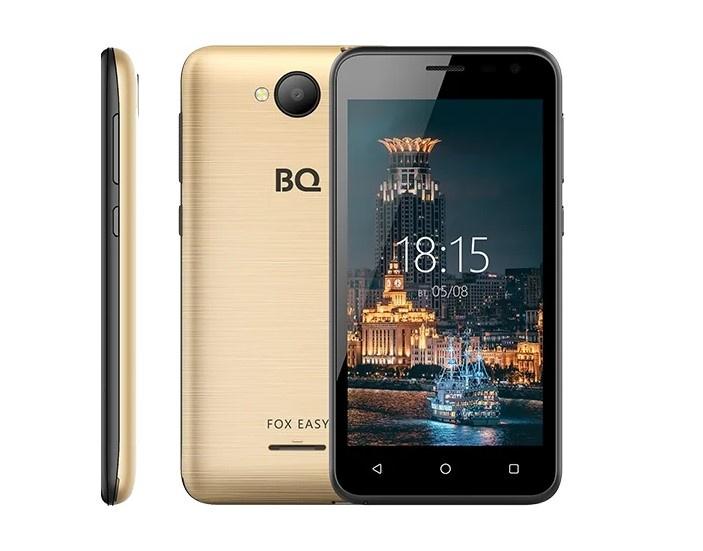 Смартфон BQ 5004G Fox 1/8GB gold
