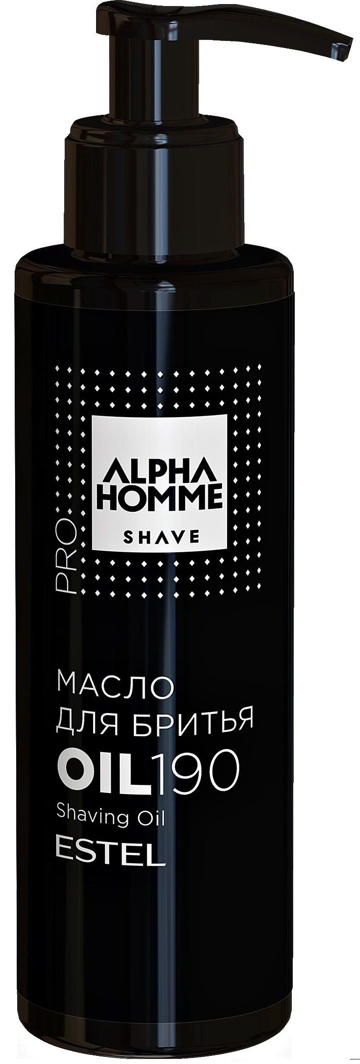 Масло для бритья ESTEL PROFESSIONAL ALPHA HOMME PRO SHAVE 190 мл estel alpha homme крем перед бритьем охлаждающий 250 мл