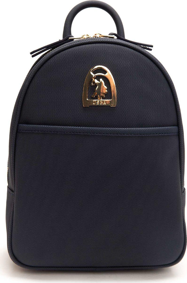 Рюкзак женский U.S. Polo Assn., цвет: темно-синий. A082SZ057ACRK8US18209_VR033 брюки мужские u s polo assn цвет темно синий g081sz0op0heroldsk8 vr033 размер 3xl 56