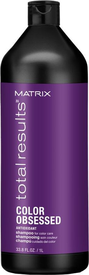 Шампунь Matrix Total Results Color Obsessed, для окрашенных волос, 1 л