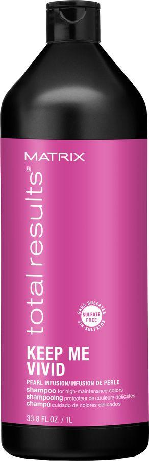 Шампунь Matrix Total Results Keep Me Vivid, для деликатного очищения волос, 1 л