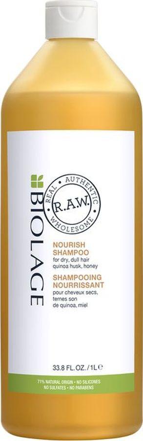 Шампунь Matrix Biolage R.A.W. Nourish, для питания волос, 1 л