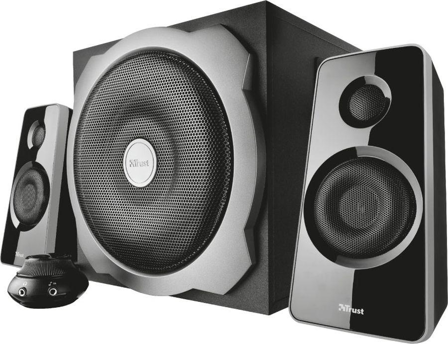 Компьютерная акустическая система Trust Tytan, черный цена и фото
