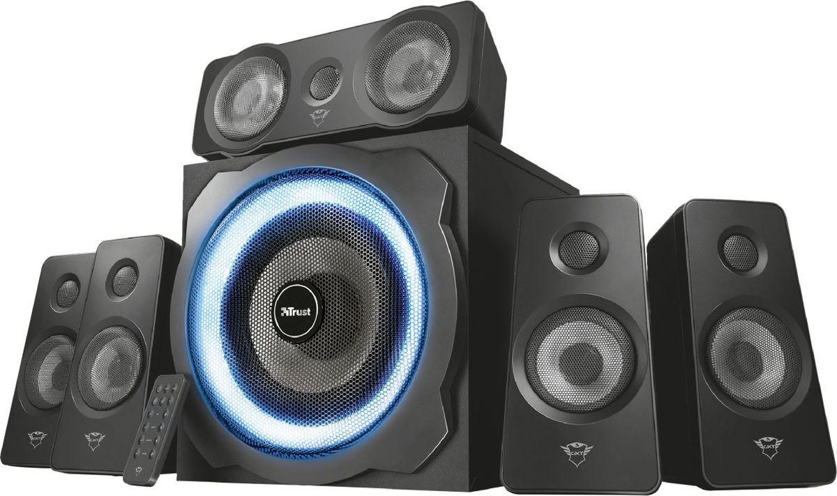 Компьютерная акустическая система Trust Gxt 658 Tytan, черный цена и фото
