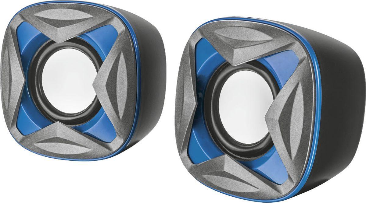 Компьютерная акустическая система Trust Xilo, черный, синий