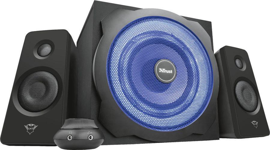 Компьютерная акустическая система Trust GXT 628 Limited, черный цена и фото