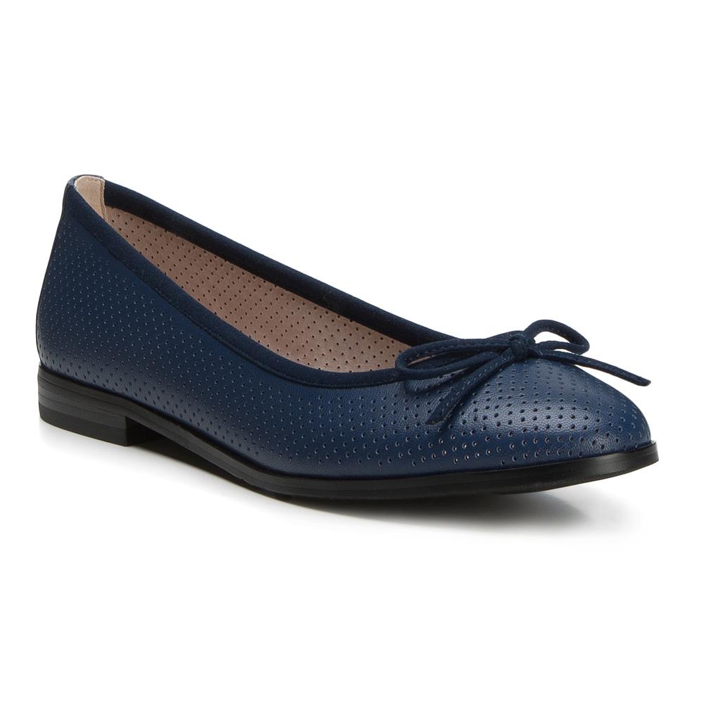 Балетки Wittchen, темно-синий 36 размер88-D-959-7-36Обувь женскаяХарактеристики продукта:артикул товара: 88-D-959-1примерная высота каблука (см): 2материал: Натуральная итальянская кожавес (кг): 0,25