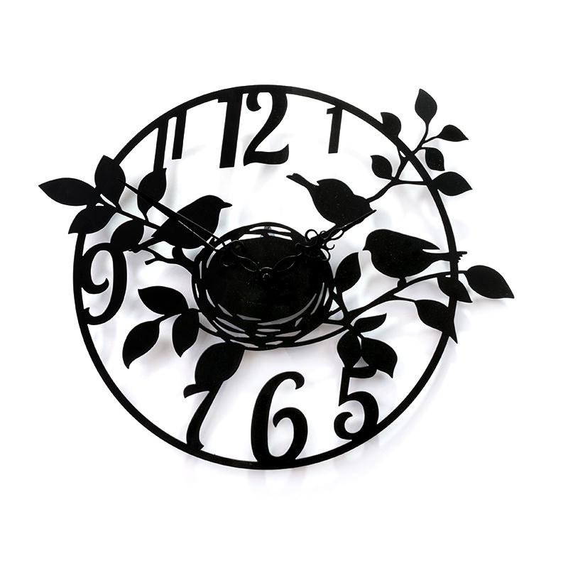 """Настенные часы Вега М1-2""""Гнездо, Лофт"""" 450 мм"""