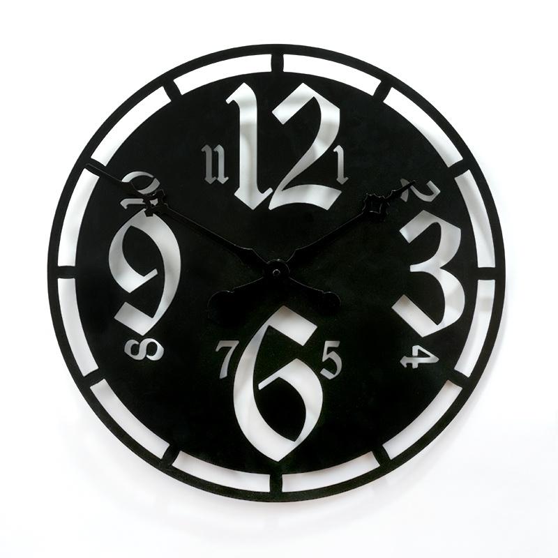 "Настенные часы Вега М1-1""Арабские цифры, Лофт"