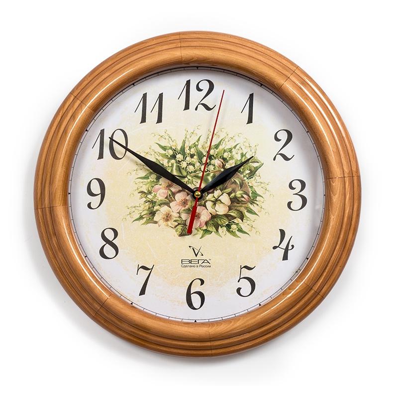 Настенные часы Вега Д10НД8