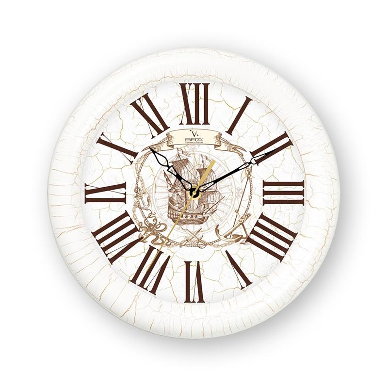 Настенные часы Вега Часы деревянные Д1КНД/7-553