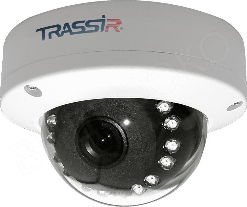 Видеокамера IP Trassir TR-D3121IR1 3.6-3.6 мм, белый
