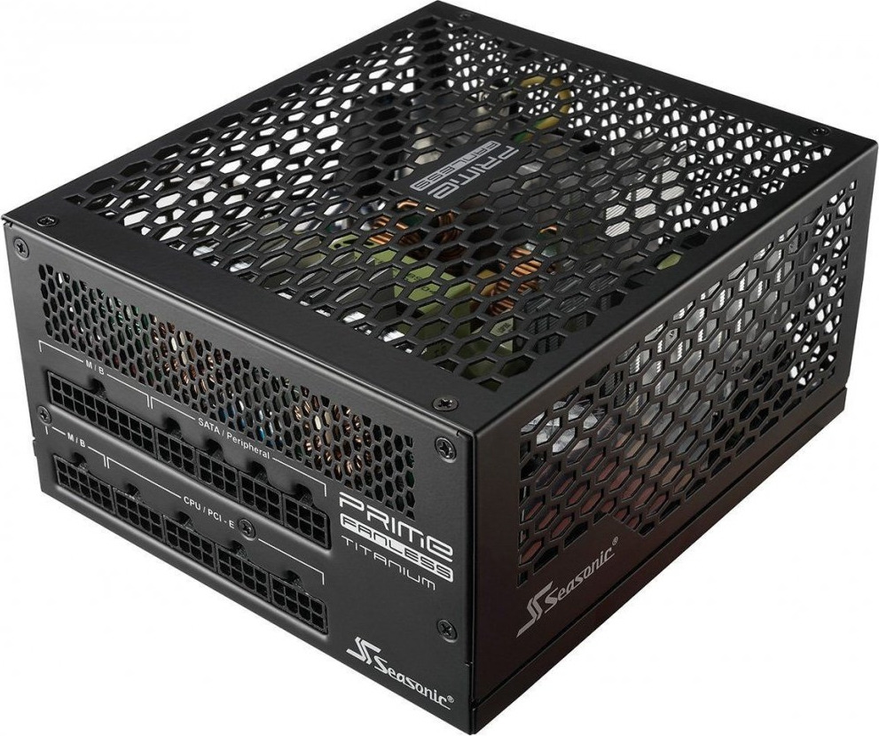 Блок питания Seasonic ATX 600W SSR-600TL 80+ titanium (24+4+4pin) 20xSATA Cab Manag RTL