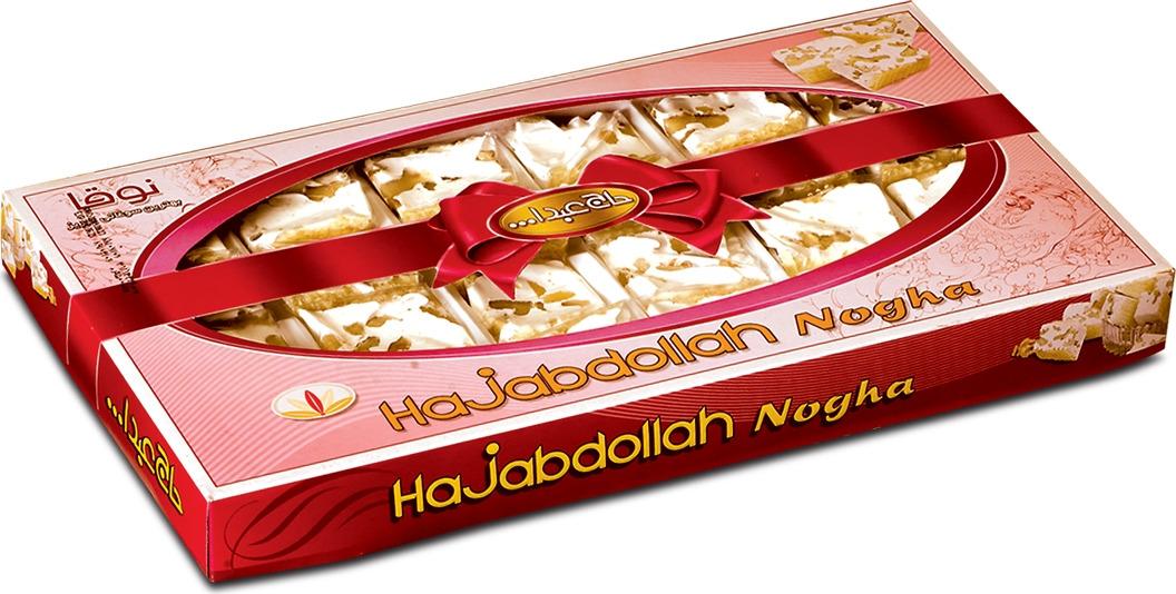 Нуга Hajabdollah с грецким орехом, 360 г pdr phisique du role водолазки