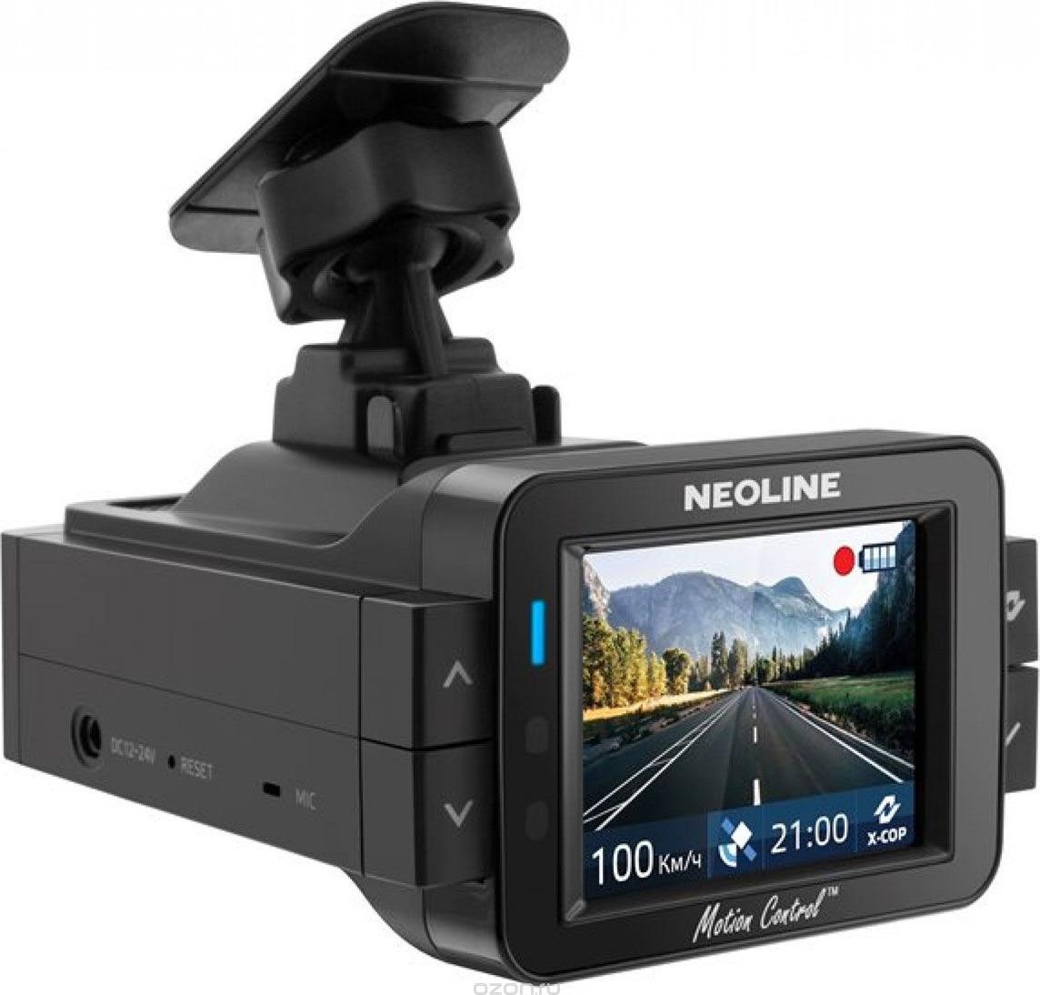 Видеорегистратор с радар-детектором Neoline X-COP 9100s, черный