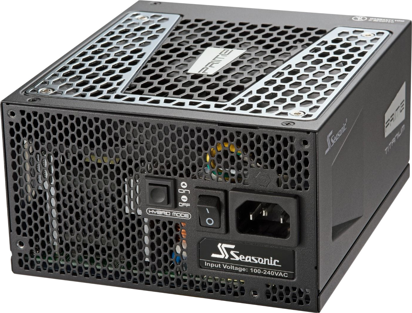 Блок питания Seasonic ATX 650W PRIME ULTRA TITANIUM SSR-650TR 80+ (24+4+4pin) APFC 135mm fan 6xSATA Cab Manag RTL блок питания atx 650 вт seasonic prime ultra gold ssr 650gd2