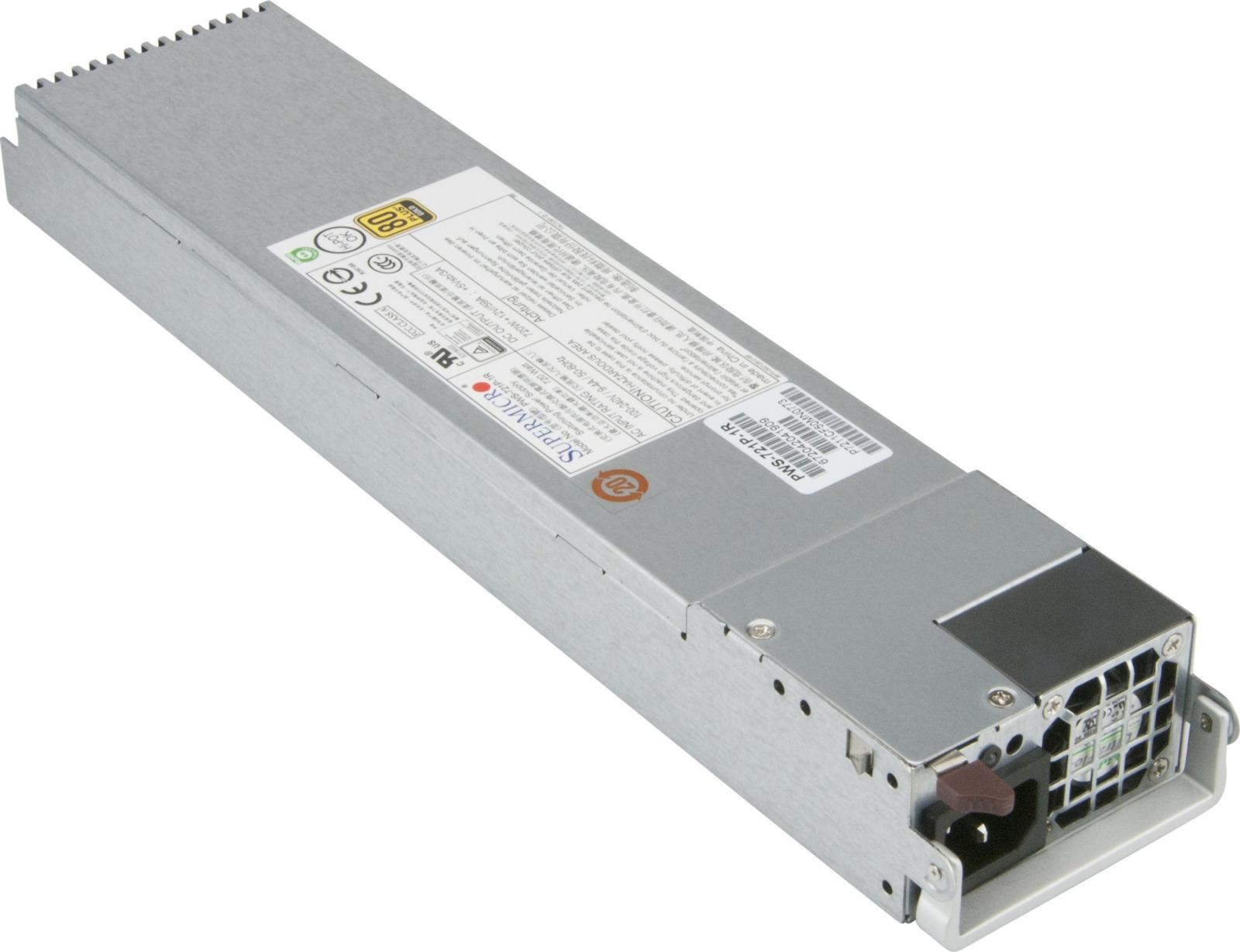 цены на Блок питания SuperMicro PWS-721P-1R 720W  в интернет-магазинах