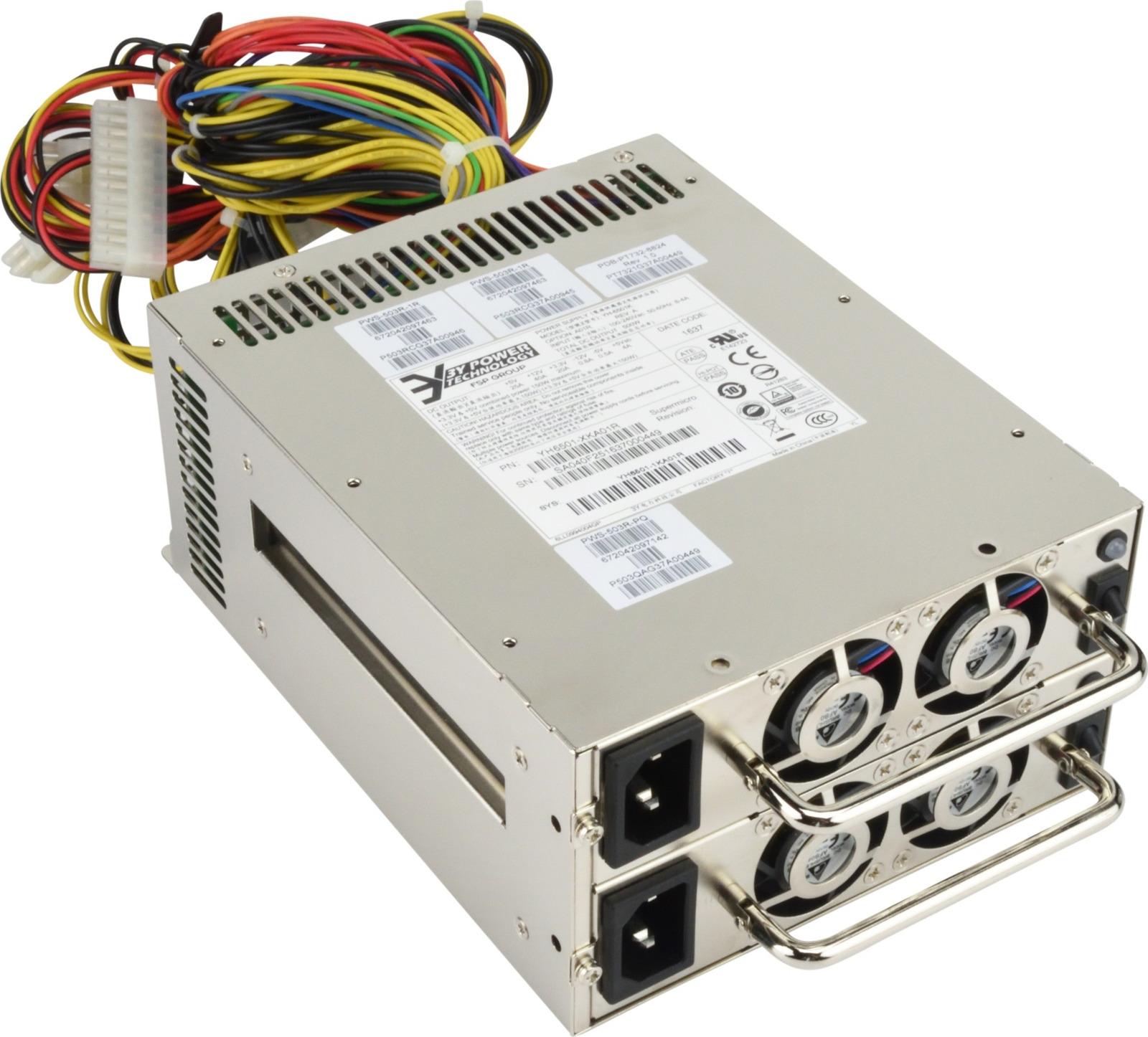 Блок питания SuperMicro PWS-503R-PQ 500W блок питания supermicro pws 865 pq 865w