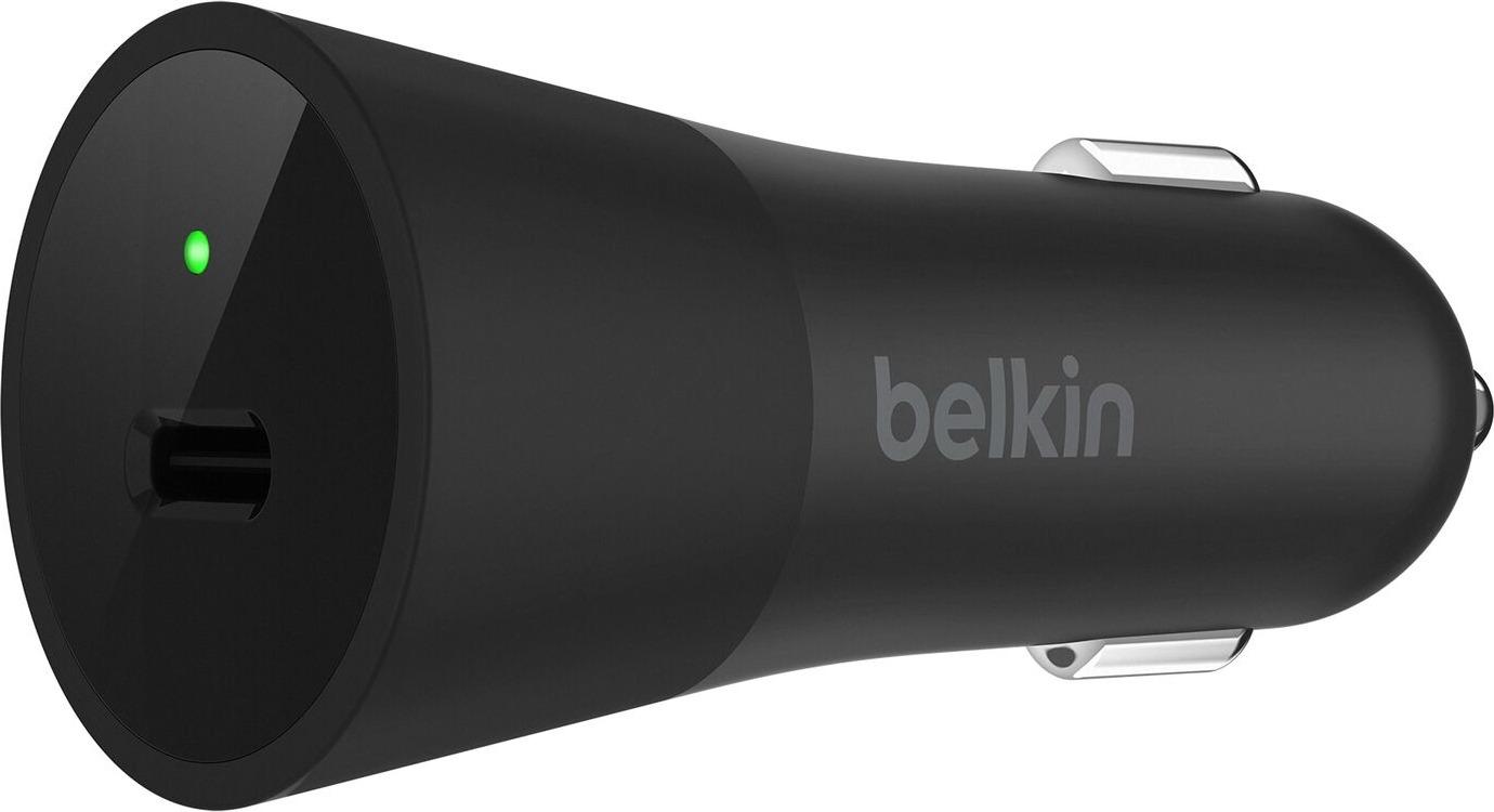 Автомобильное зарядное устройство Belkin для Apple, F7U013DSBLK автомобильное зарядное устройство belkin f8j154bt04 blk usb 3 4a черный