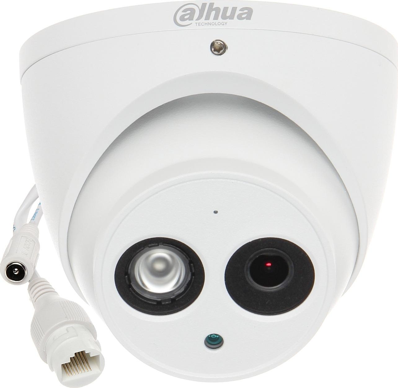 Видеокамера IP Dahua, DH-IPC-HDW4231EMP-ASE-0280B, белый ip камера dahua dh ipc hdw4231emp ase 0280b