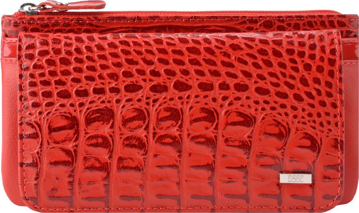 Кошелек женский Esse Инканто, GINC00-00ML00-F8704T-K100, красный портмоне женское esse инканто цвет сливовый ginc00 00ml00 d8507o k100