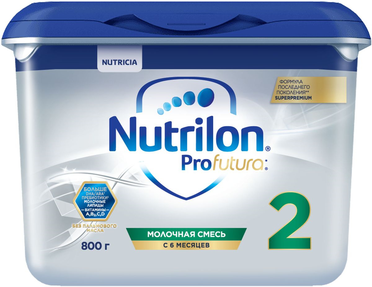 Молочная смесь Nutrilon 2 Superpremium, 800 г
