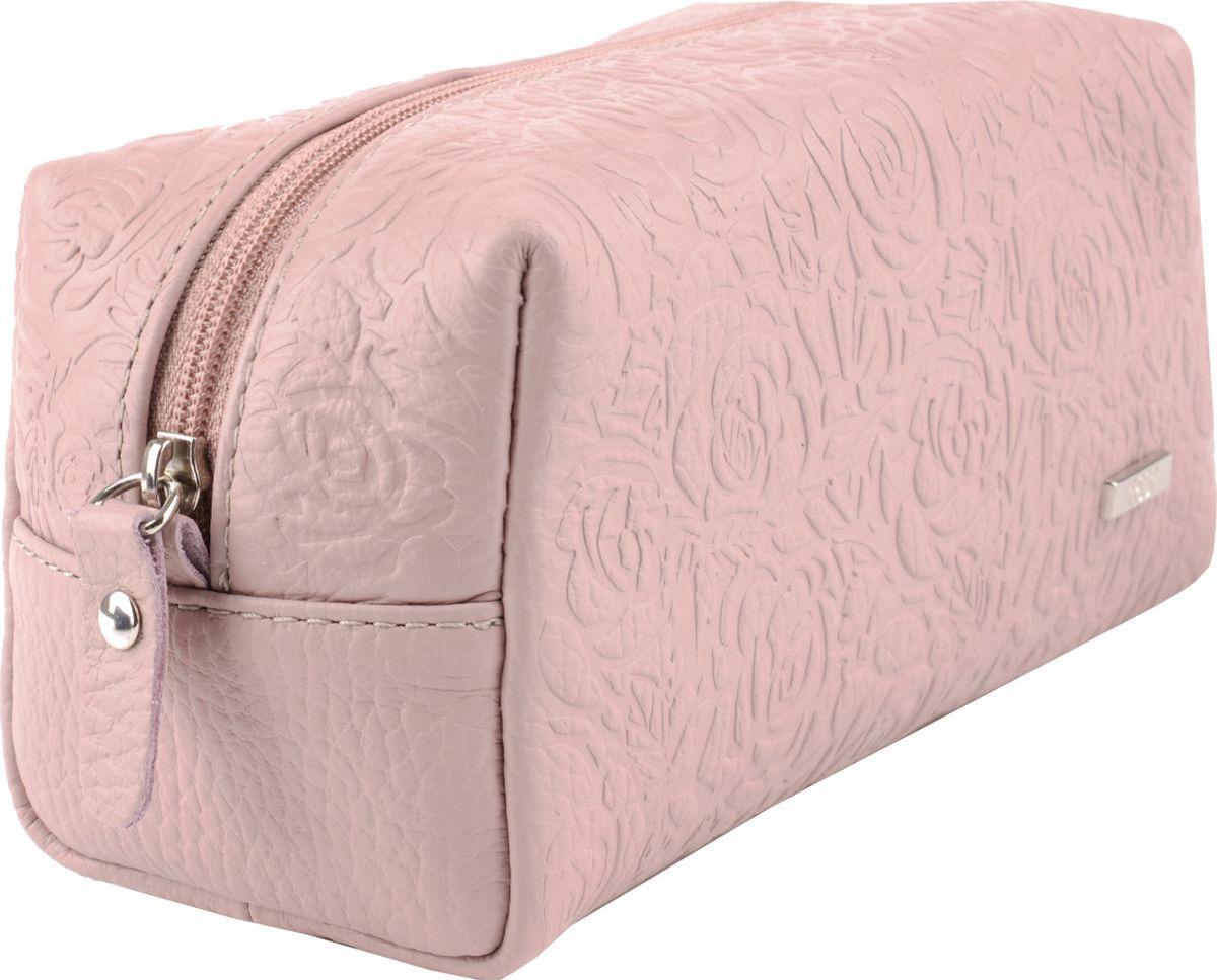 Косметичка женская Esse Минна, GMNN00-000000-F8605T-K100, светло-розовый обложка для паспорта женская esse page цвет бордовый gpge00 000000 fi506o k100