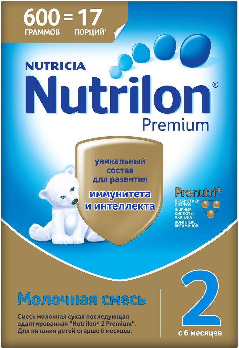 Молочная смесь Nutrilon Premium 2, 600 г