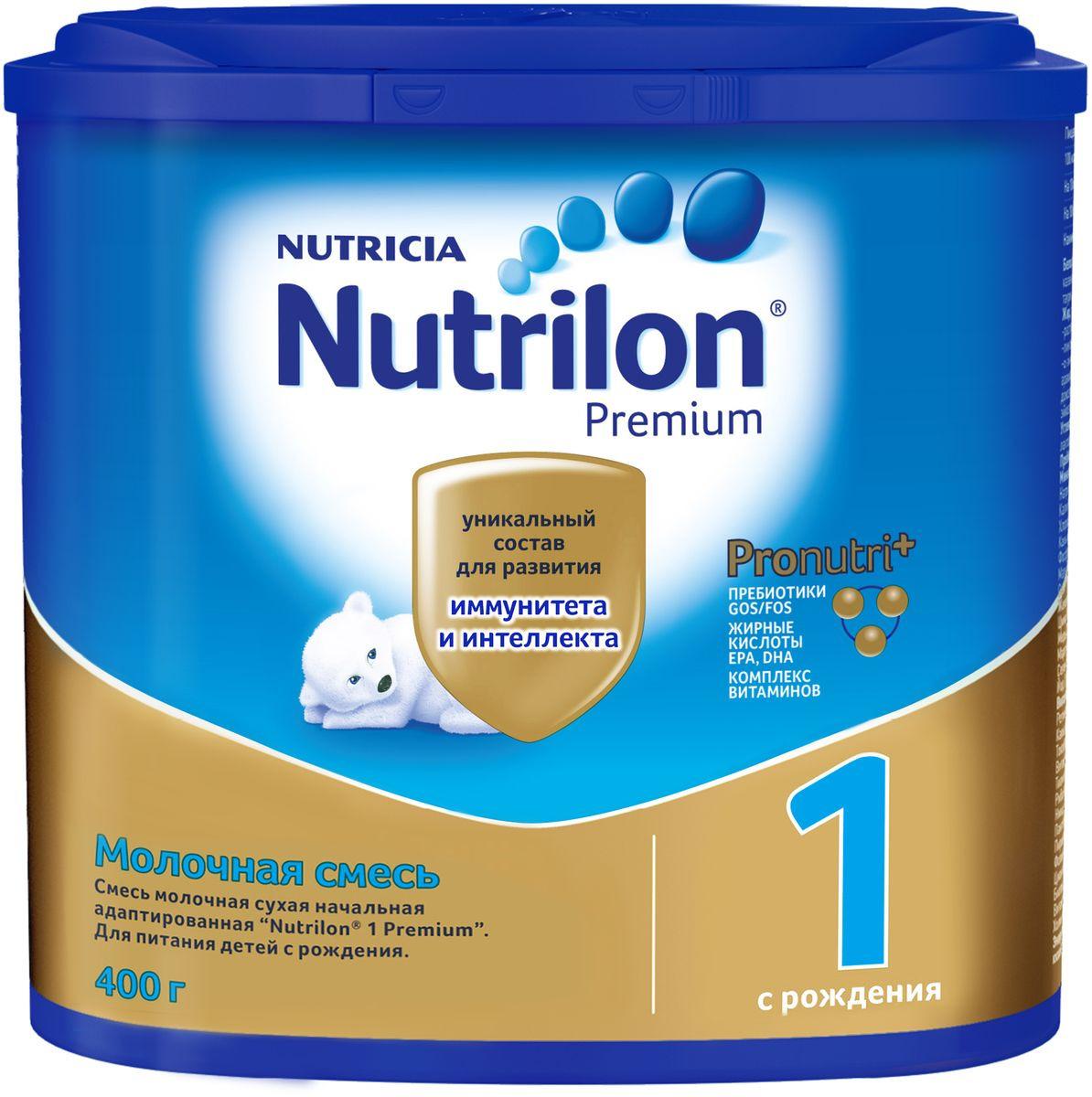 Молочная смесь Nutrilon Premium 1, 400 г