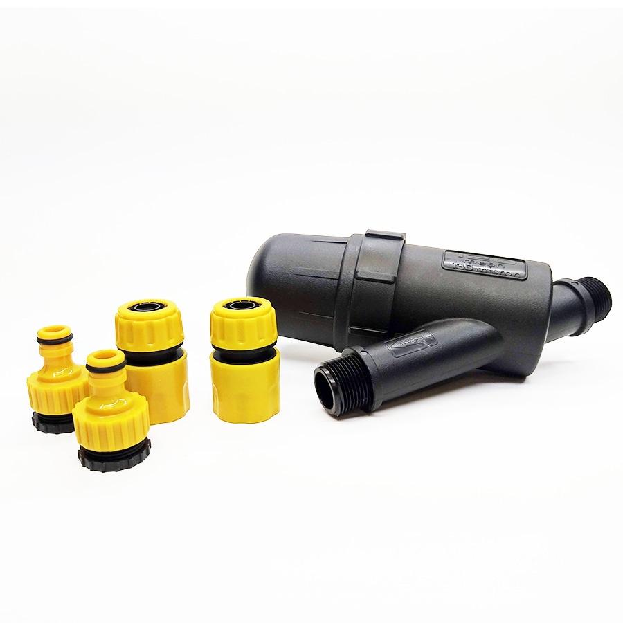 Фильтр для полива Поливчик Фильтр с универсальными коннекторами