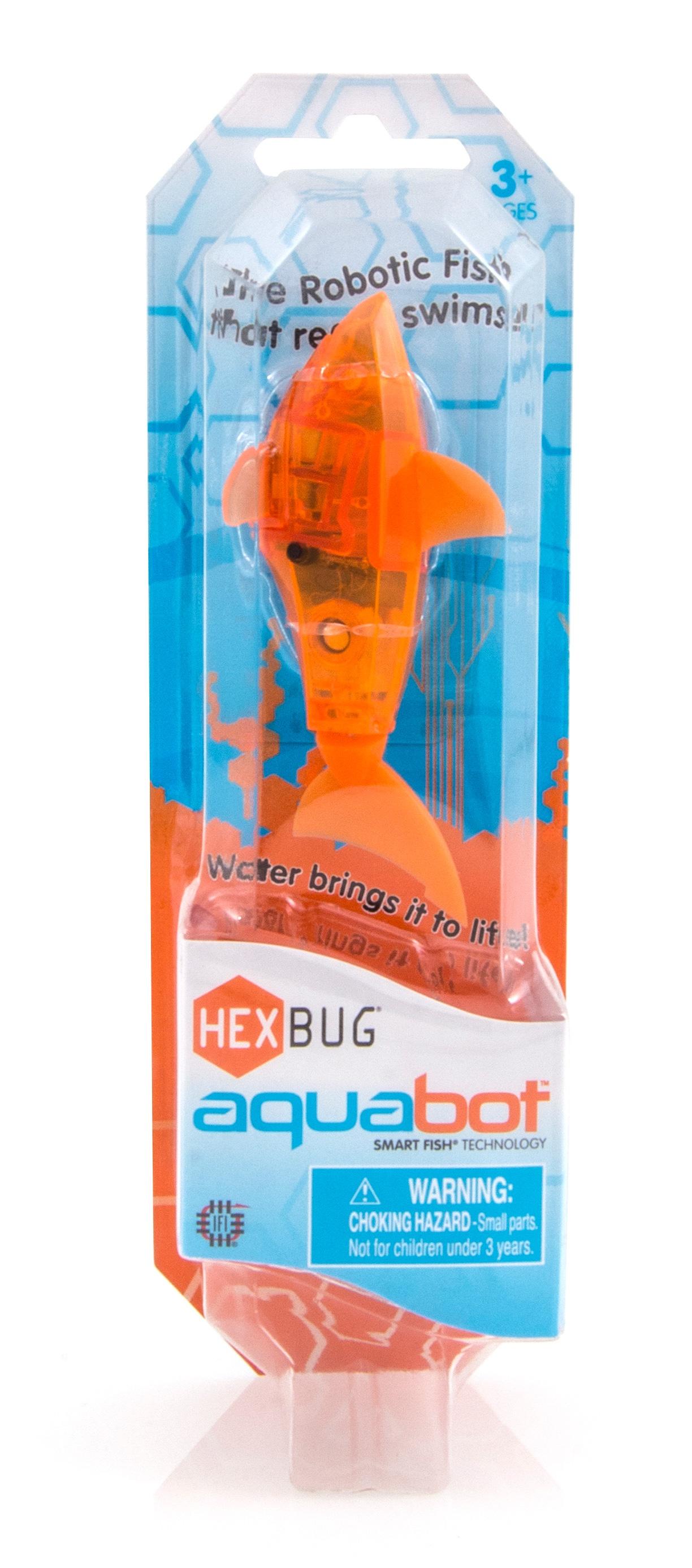 Игрушка для ванной Hexbug Рыбка 460-3028 оранжевый