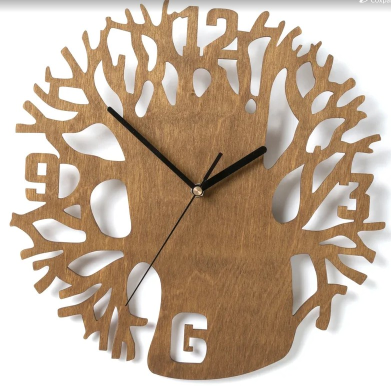 Настенные часы Вега Часы настенные из фанеры Ф1-6