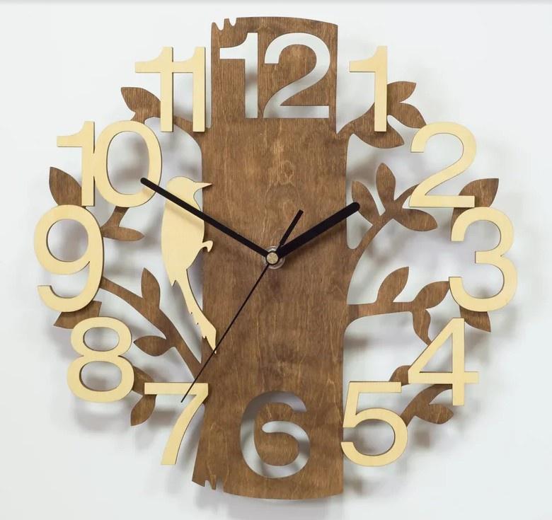 Настенные часы Вега Часы настенные из фанеры Ф2-3