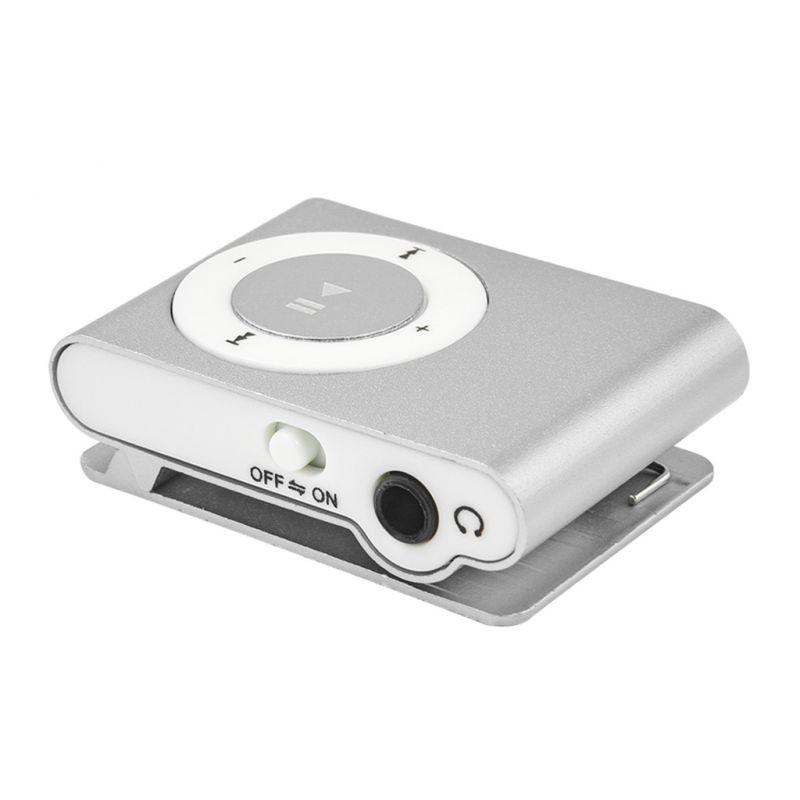 MP3 плеер Dream MINI CLIP, серебристый